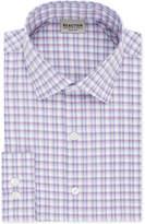 Kenneth Cole Reaction Men's Slim-Fit Flex Collar Three-Way Stretch Performance Check Dress Shirt