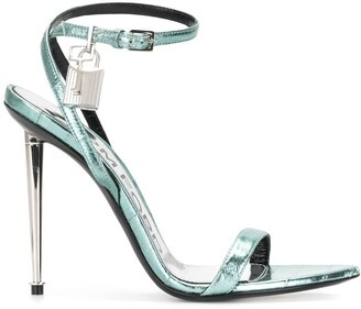 Tom Ford Padlock-Embellished 95mm Sandals