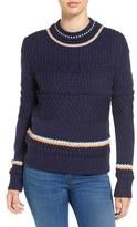 Paul & Joe Sister Mixed Stitch Sweater