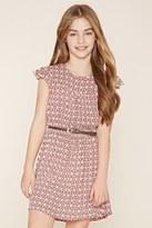 Forever 21 Girls Belted Dress (Kids)