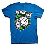 Coole-Fun-T-Shirts T-Shirt Blink 182 - Thumps Up blue blue Size:S