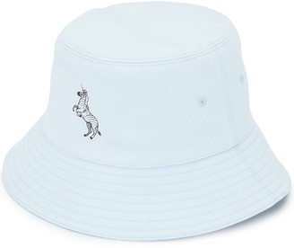 Burberry Zebra Applique Bucket Hat