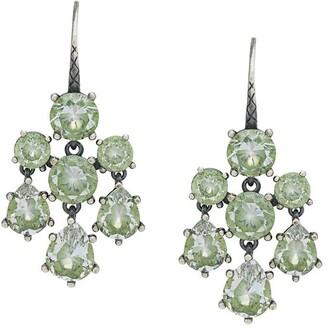 Bottega Veneta Chandelier Cubic Earrings
