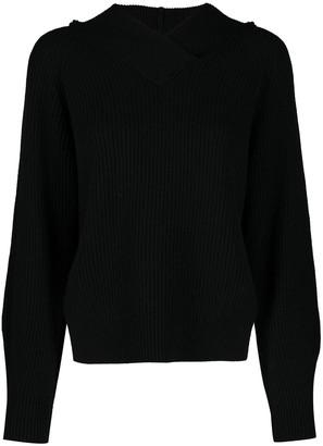 Tela Hooded Knitted Jumper