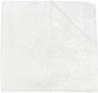 Emporio Armani Floral Print Scarf