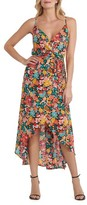 ECI Women's Floral Print High/low Dress