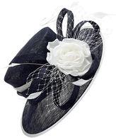 Jacques Vert Contrast Flower Hat