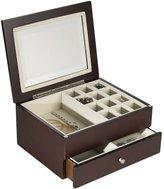 Mikasa Wallace® Mahogany Jewelry Box with Drawer