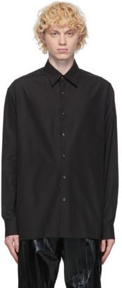 Dunhill Black Split Hem Classic Shirt
