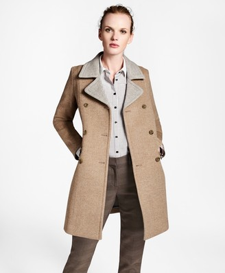 Brooks Brothers Wool Pea Coat