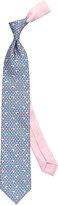 Thomas Pink Elephant Family Print Tie