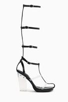 Nasty Gal Lavish Gladiator Sandal - Black