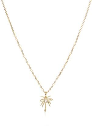 C.J.M Palm Necklace