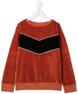 Wolf & Rita Velvet Long-Sleeved Sweatshirt