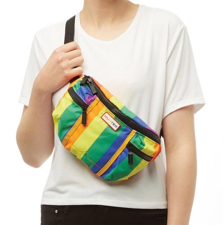 Hunter Unisex Original Pride Bumbag Rainbow