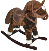 Brown Horse Rocker