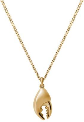 Miansai Lobster Claw Pendant Necklace