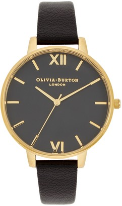 Olivia Burton Big Dial Gold-plated Watch