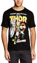 Logoshirt Men's Marvel - The Mighty Thor - For Asgaaard! Crew Neck Short Sleeve T-Shirt