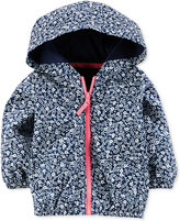 Carter's Hooded Floral-Print Windbreaker Jacket, Baby Girls (0-24 months)