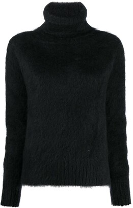 Gianluca Capannolo Mohair-Blend Roll Neck Jumper