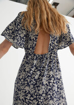 Thumbnail for your product : And other stories Printed Puff Sleeve Maxi Dress
