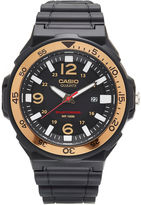 G-Shock G SHOCK Mens Black and Gold Three Hand Solar Strap Watch MRWS310H-9BV