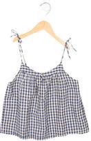 Bonpoint Girls' Checkered Top