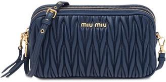 Miu Miu Matelasse Make Up Bag