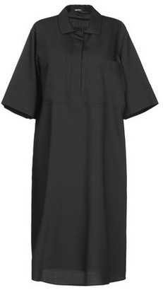 Jil Sander Navy Knee-length dress