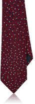 Lanvin Men's Geometric-Print Silk Foulard Necktie