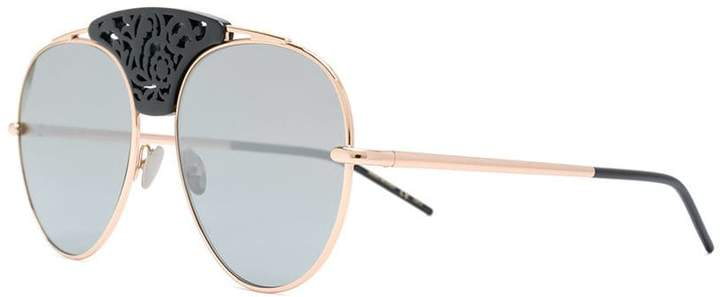 Pomellato embellished bridge sunglasses