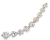 Anita Ko Yellow Gold Floating Diamond Earring