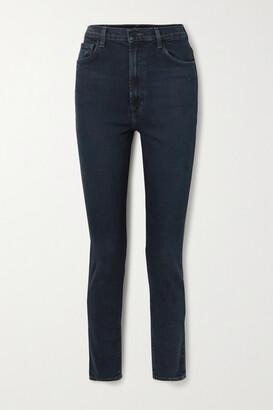 J BRAND - 1212 Runway High-rise Slim-leg Jeans - Blue