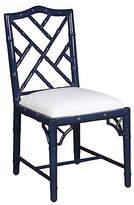 Selamat Simona Bamboo Side Chair - Navy