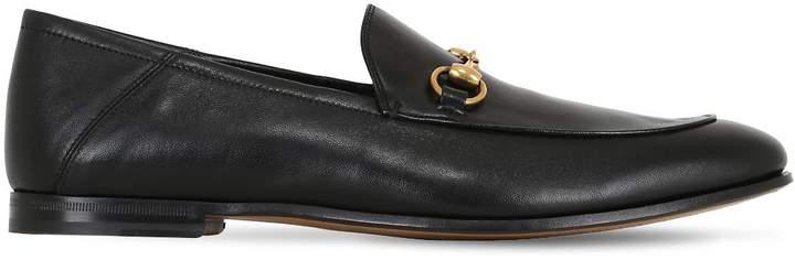 Gucci Brixton Horsebit Soft Leather Loaferss