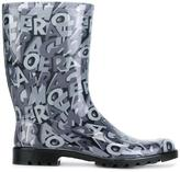 Salvatore Ferragamo 'Farabel' boots - women - Polyamide/PVC/rubber - 5
