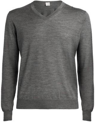 Pal Zileri Wool-Silk Sweater