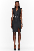 Altuzarra Charcoal grey Broome Dress
