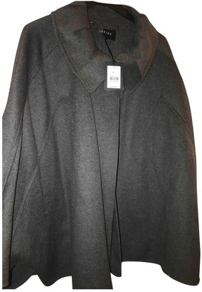 Jaeger Grey Wool Coat for Women