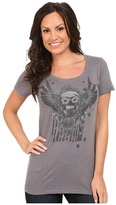 Roper Sugar Skull American Screen Print Top