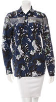 Timo Weiland Floral Print Button-Up