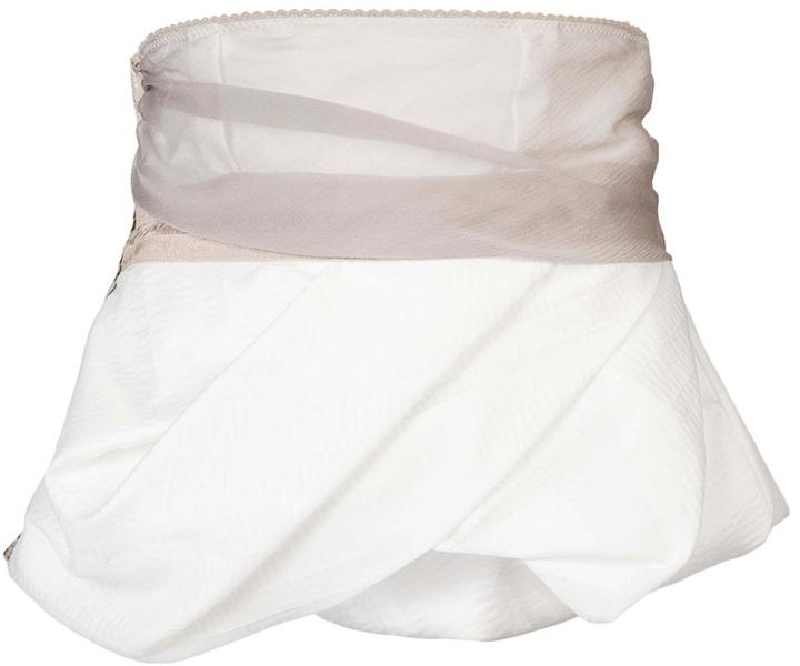 Tim Van Steenbergen Pouf belt mini skirt
