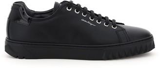 Salvatore Ferragamo Logo Low-Top Sneakers