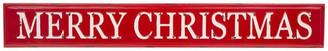 "Glitzhome,Llc 45.75"" Enameled Metal ""MERRY CHRISTMAS"" Wall Sign"