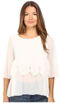 See by Chloe Crepon Tier Blouse Women's Blouse