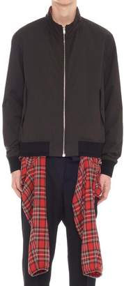 Y/Project Y / Project Checked Shirt Bomber Jacket