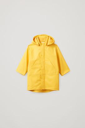 Cos Panelled Raincoat