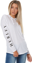 Hurley Double Womens Long Sleeve T-shirt White