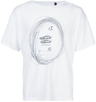 Enfants Riches Deprimes car print T-shirt